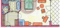 Bergkristall suite Plan