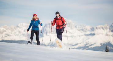 Winterwanderwoche in den Dolomiten - 1 Tag gratis
