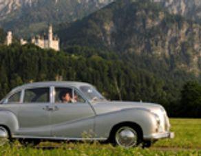 """Oldtimer BMW """"Barockengel"""""""