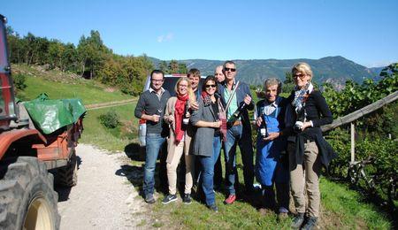 Weingütertour entlang der Südtiroler Weinstraße
