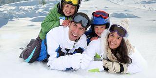 Pacchetto sciistico invernale per famiglia
