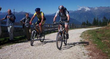 Bedalare nella regione più bella del'Alto Adige