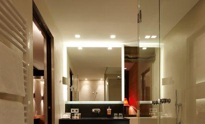 Badezimmer des neuen Südzimmers