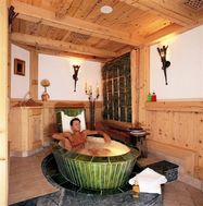 Traditional Serfaus Hay Bath