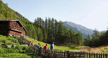 Südtiroler Herbst-Bergluft