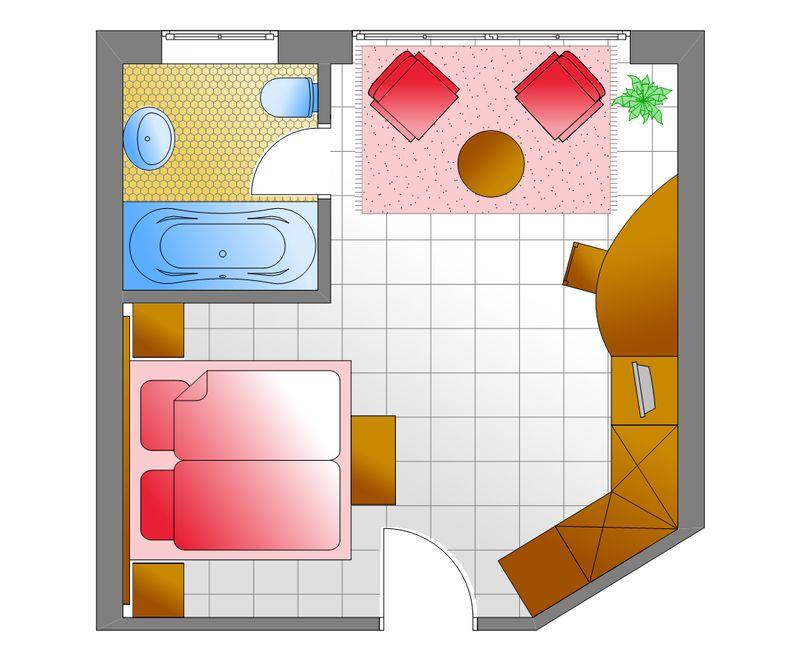 Zum Kurfürsten - Villa BelVital Doppelzimmer