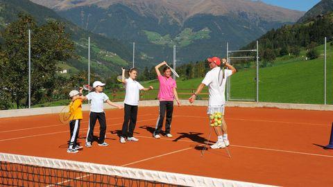 Tennis-Junior lesson
