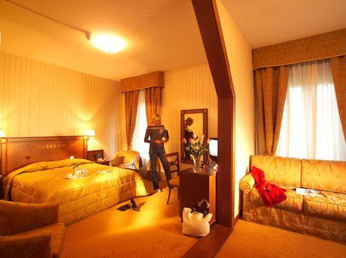 Dreibettzimmer mit Seeblick