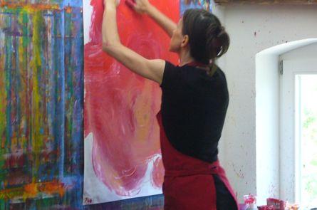 INNERE LANDSCHAFTEN - AUSDRUCKSMALEN mit Tina Kaltenbach