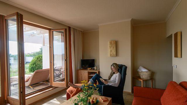 Roof-top garden suite