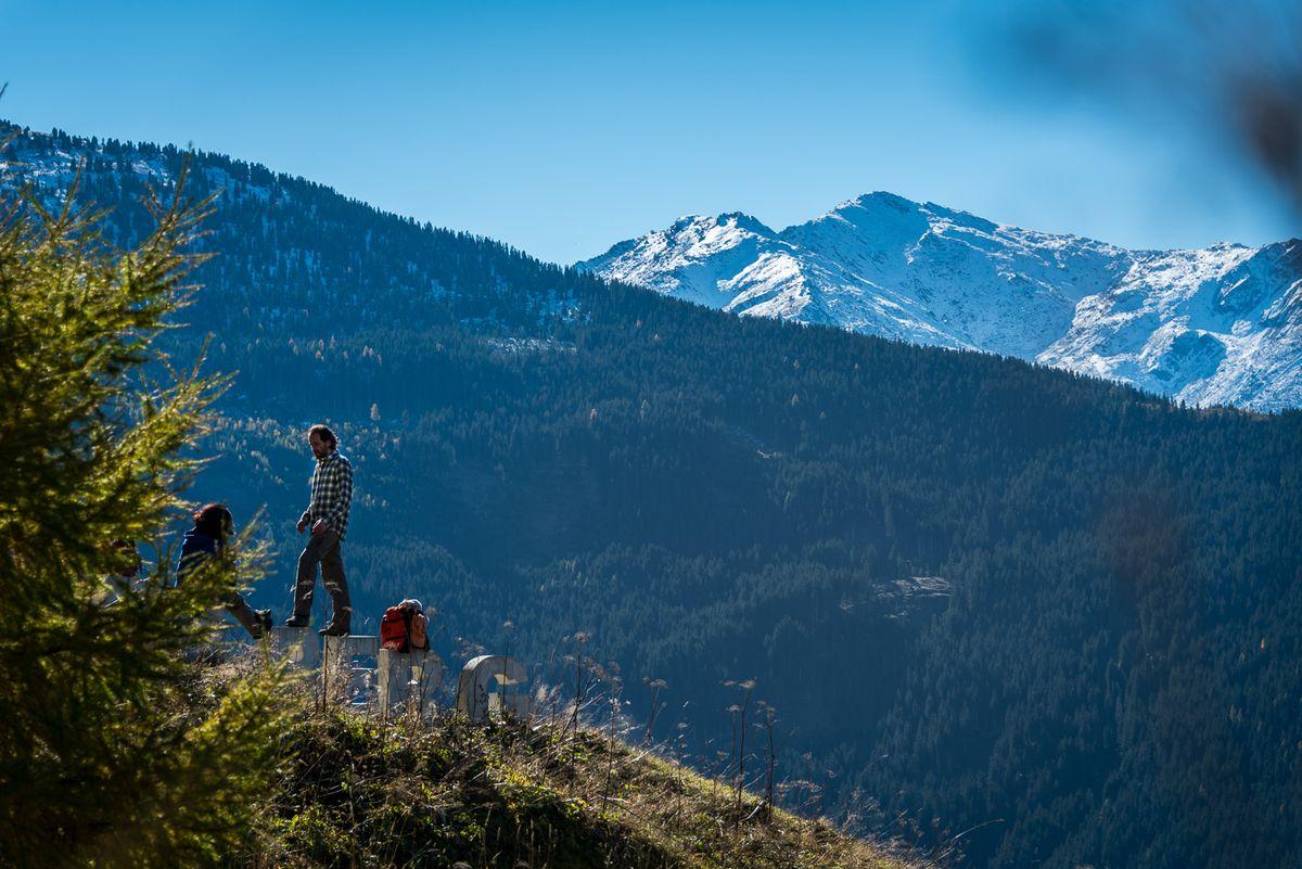 Sportliche Bergfreuden