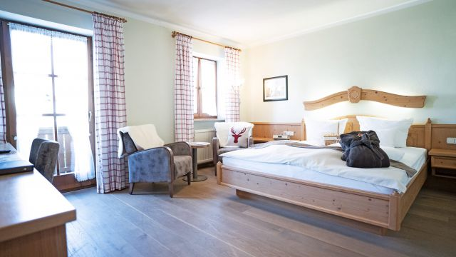 """Comfort Double Room """"Holunder"""" with Balcony"""