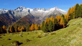 In fall, the Ahrn Valley presents itself in all its splendor, while the morning fog still covers the valley and the sun slowly rises over the mountain peaks. Enjoy colorful and unique autumn days, amidst wholesome nature, a pristine mountain landscape and at the heart of one of South Tyrol's most beautiful valleys - the Ahrn Valley.