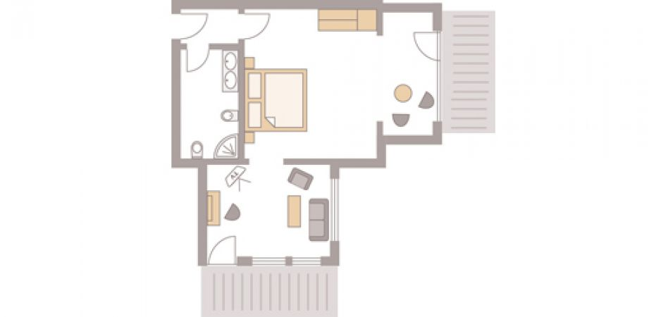 Junior-Suite Silberberg  | South and East side 3/3