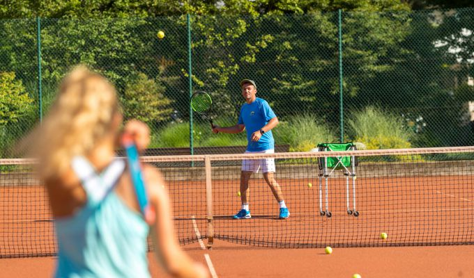 Private tennis lessons