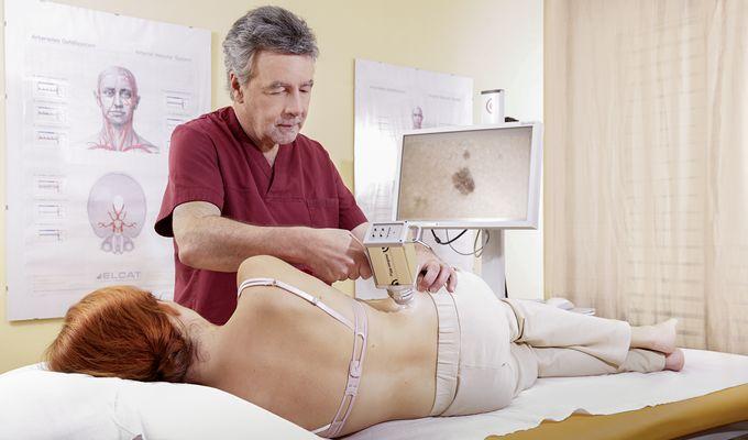 Check-Up Hautkrebs-Vorsorge