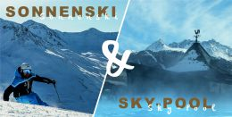 Sonnenski & Chill-out am Sky-Pool