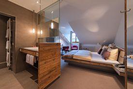 Small-studio (Alemannenhof Hotel Apartments, 300 m above the hotel)
