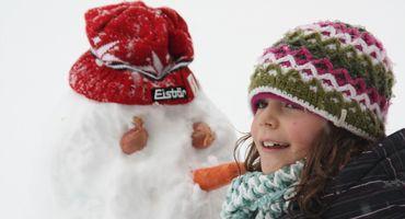 Settimane per famiglie e bambini a febbraio
