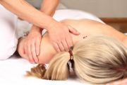 Teilkörper-Massage . Rücken-Massage