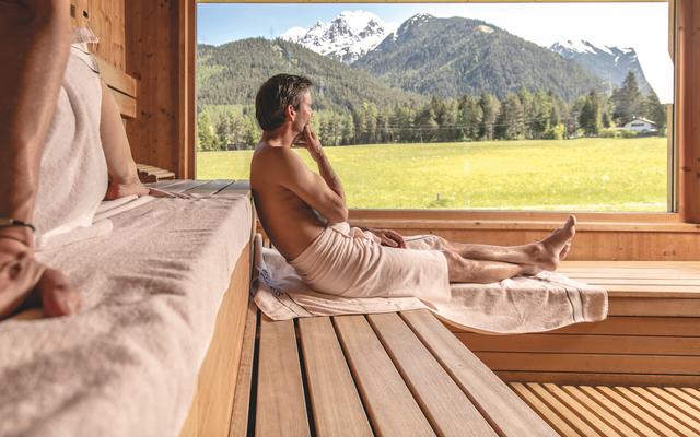 Bio-Wellnesshotel Holzleiten: Sauna