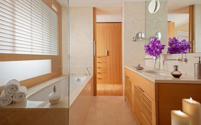 Biohotel Raphael: Badezimmer Richard Meier Executive Suite