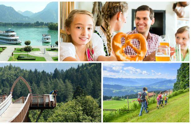 Familien Kurzurlaub im Allgäu