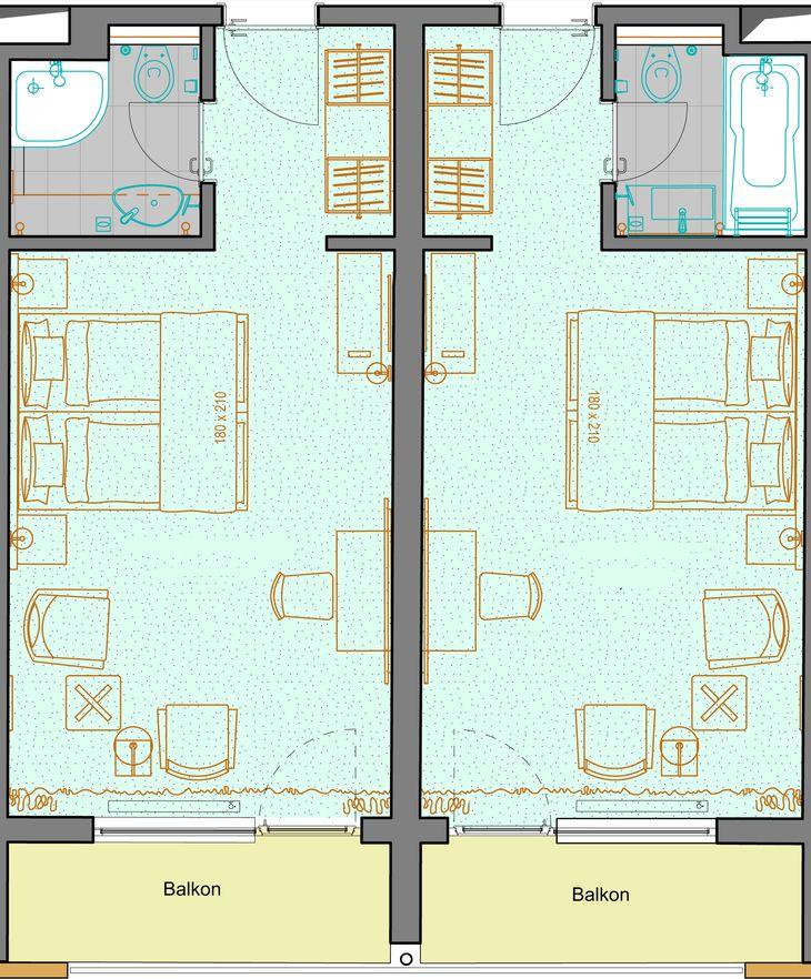 Doppelzimmer Klassik