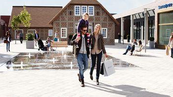 Shoppingerlebnis für die ganze Familie im Designer-Outlet Soltau