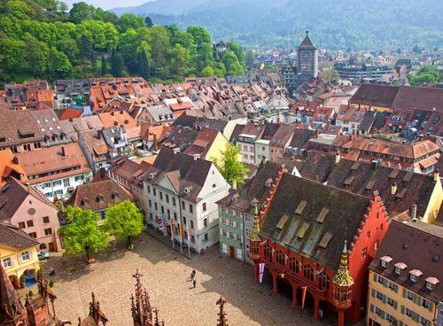 Sich in Freiburg verlieben