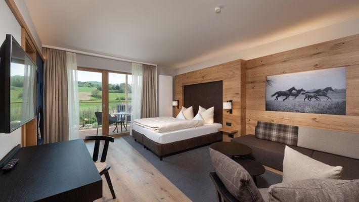 Hotel Zimmer: Family-Suite Premium + Kuschelnest - Schreinerhof in Schönberg