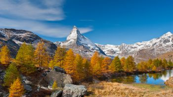 Goldener Herbst Zermatt