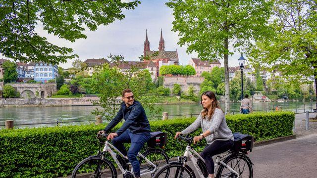 Discover the Basel Region by e-Bike!