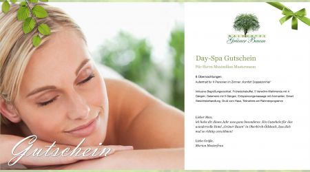 Day Spa Gutscheine